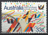 Australien Briefmarke gestempelt 33c South Australia Party Feier Fest / 1198