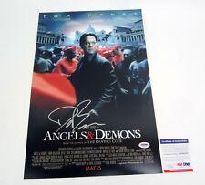 Dan Brown Author Signed Autograph Angels & Demons Movie Poster PSA/DNA COA #1