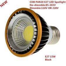 Newest 15WCOB dimmable PAR20 LED Spot Bulb Lamp Light E27 GU10 Warm White