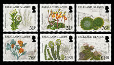 Falkland Is. 2016 Endemic Plants 6v set MNH