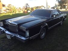 1978 Lincoln Continental Mark V 5 LTD V8 suit Cadillac buyer Classic