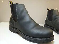 JACK WOLFSKIN Herren Schuhe Stiefel Leder Gummizug Gr.45,5(UK11) f.Neuw