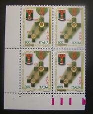 2001  Italia Quartina Cavalieri del Lavoro  800 lire   MNh*