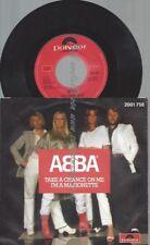 """7""""  ABBA TAKE A CHANCE ON ME  // AUSTRO MECHANA"""