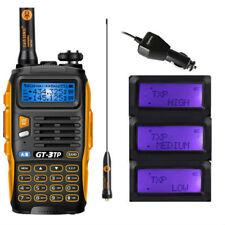 Nuovo!! Baofeng GT-3TP Mark III *8W* FM Radio VHF UHF Tri-Power Ricetrasmittente
