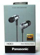 Panasonic-RP-HDE3 S High-Resolution In-Ear Canal Headphones / FREE-SHIPPING