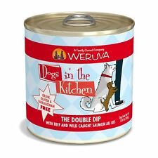 Weruva Dogs In The Kitchen The Double Dip Grain Free Beef & Salmon Canned Dog Fo