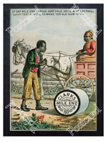Historic Clark's Cotton Thread Advertising Postcard 1