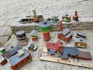 Spur TT Konvolut Gebäude Industrie Auhagen Vero guter Zustand
