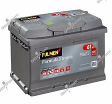 Batterie Fulmen D21 Fa612 12v 60ah 600a 12 Volts -garantie 2 ans