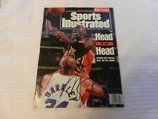 Michael Jordan Autographed Sports Illustrated NBA Finals June 21, 1993
