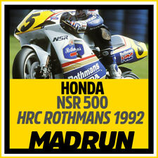 Kit Adesivi Honda NSR 500 Team Rothmans 1992 - Mick Doohan - High Quality Decals