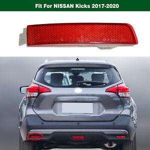 Left 265655C000 Rear Bumper Reflector Lamp Light For Nissan Kicks 2017-2020
