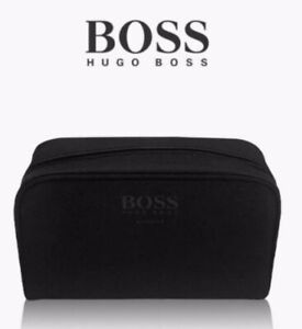 Brand New!! Hugo Boss Black Pouch Wash Toiletry Bag Mens Travel/Gym/holiday
