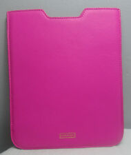 HENRI BENDEL WEST 57TH NEON IPAD SLEEVE COVER PINK NEW $88