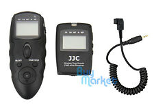 JJC WT-868 Wireless Timer Remote with CABLE for SONY RX10 III A6300 RX1RII etc.