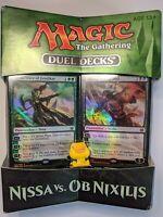 Nissa vs. Ob Nixilis Duel Deck 🌇 Sealed 🎑 Magic The Gathering🎍MTG 🏵️ EDH ❇️