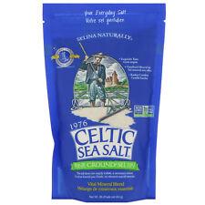 Celtic Sea Salt Fine Ground Vital Mineral Blend 1 lb 454 g GMP Quality Assured,