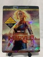 Captain Marvel 4K (4K Ultra HD+Blu-ray+Digital Code) NEW