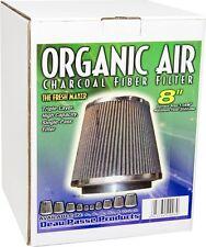 "Organic Air 8"" PHAT Charcoal Fiber Filter High Flow 2000 CFM The Fresh Maker $$"