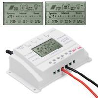 LCD 20A 12V/24V MPPT Solar Panel Charge Regulator Controller Three Timer ZH