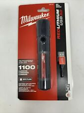 Milwaukee 2161-21 1100 Lumens Rechargeable Flashlight Focusable. Newest Model