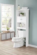 Bathroom Over The Toilet Storage Organizer Cabinet Space Saver Three Shelves