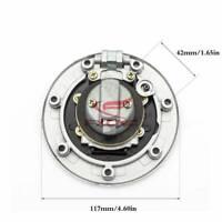 CNC For Kawasaki Ninja500/500R/EX500/GPZ500 ZX7R Keyless Fuel Gas Tank Cap Cover
