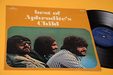 APHRODITE'S CHILD LP BEST OF 1° ST ORIG ITALY 1971 LAMINATED COVER
