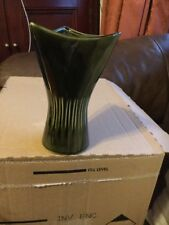 DARTMOUTH DARK GREEN POTTERY VASE 256 18CM TALL