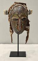 Mask African Chokwe Congo Mask