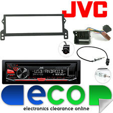 BMW Mini R50 R52 R53 JVC CD MP3 Tuner USB Aux Car Stereo & Flat Pin Fascia Kit
