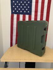 Pelican Hardigg Weatherproof Green Military Case With New Kaizen Foam