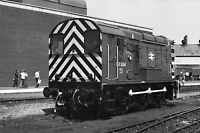 British Rail Class 08 504 Doncaster Quality 6x4 inch Rail Photo