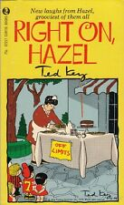Right On, Hazel (1972) Ted Key - Curtis Books #07217 - King Features Syndicate