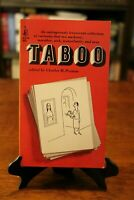 TABOO: Outrageously Irreverent Collection of Cartoons 1ST PRINT (1968) VINTAGE