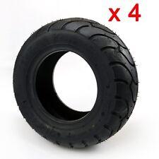 4 Pack 13x5.00-6 Tubeless Tire MINI POCKET SCOOTER ATV GO KART Lawn Mower 13x5-6