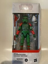 "Star Wars Black Series ~ 6"" IMPERIAL STORMTROOPER (HOLIDAY EDITION) ~ Hasbro"