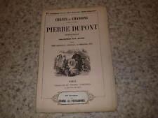 1850.Chants chansons.69e liv.La rondes paysannes.Pierre Dupont
