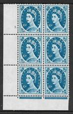 10d Wilding Violet Phos 9.5mm cyl 1 Dot perf type F(L) UNMOUNTED MINT