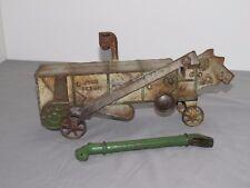 John Deere VINDEX Threshing Machine Thresher 1930's Toy OLD RARE Vintage ORIGINA