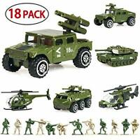 Military Vehicles Set - Alloy Metal Army Models