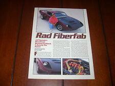 1966 FORD MUSTANG FIBERFAB E/T    ORIGINAL 1995 ARTICLE
