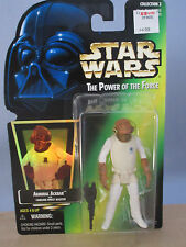 Star Wars The Power of the Force: Admiral Ackbar Figure (Kenner 1997) NOC