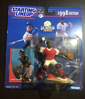 1998 Starting Lineup SANDY ALOMAR JR Cleveland Indians Extended Series