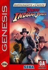 Instruments of Chaos Starring Young Indiana Jones (Sega Genesis, 1994)