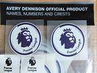 2 x Avery Dennison Premier League Shirt Sleeve Arm Patch - 45mm Infants Size