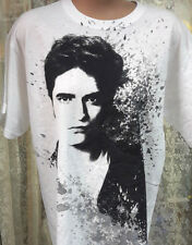 Twilight Edward Cullen White T-Shirt- Size SMALL- FREE S&H (TWTS-015)