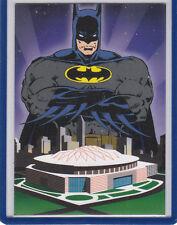 Batman Saga Of The Dark Knight Super Bowl 28 Promo Card 50K Cowboys Bills Skybox