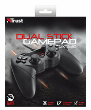 NUOVO 17518 CROSSFIRE Gamepad Trust, 2 JOYSTICK, per PC & ps3